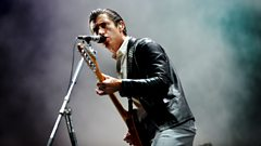 "Alex Turner: ""Does this mean I'm not as unpredictable as when they kept me after the watershed?"""