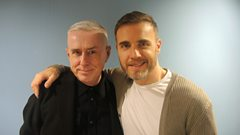 Holly Johnson and Gary Barlow