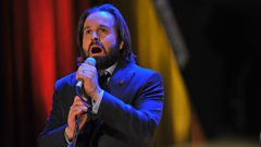 Alfie Boe enters the Singers Hall of Fame