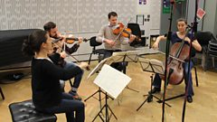 The Elias String Quartet play Haydn live on In Tune