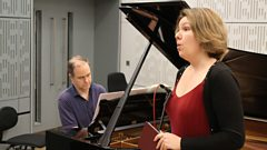Nadine Koutcher and Julius Drake perform Alban Berg's 'Die Nacht' live on In Tune