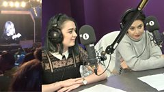 Was Adele right to scorn someone for filming her gig? Maisie Williams & Charli XCX discuss...