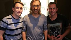 Scott Mills - David Guetta en Paris