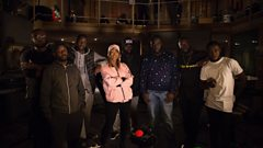 #SiansStudio at Maida Vale: P Money, Blacks, Capo Lee & Nico Lindsay with The Compozers