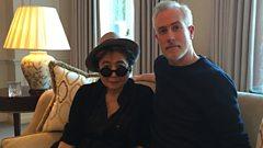 Matt Everitt & Yoko Ono