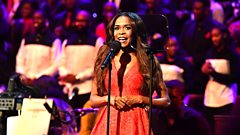 Watch: Michelle Williams performs with a gospel superchoir at the Proms