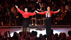 Karen & Kevin dance the Paso Doble