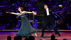 Katie Derham and Aljaz dance the Viennese Waltz