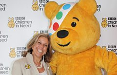 Stevie Spring (and Pudsey Bear!)