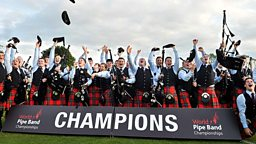 Image for World Pipe Band Championships