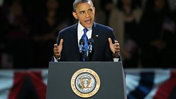 Image for US Election 2012: Obama re-elected as US president