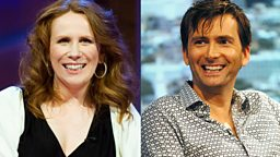 Image for Catherine Tate interviews David Tennant