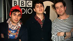 Image for Vampire Weekend talk to Grimmy!