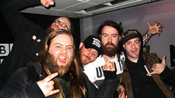 Image for Cancer Bats Live In The Studio