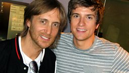 Image for Thursday - David Guetta teaches Greg to DJ