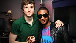 Image for Thursday - Usher and Jason Derulo, all in a days work!
