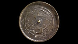 Image for Japanese bronze mirror