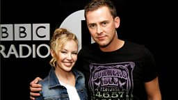 Image for Kylie Minogue in the studio