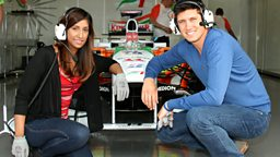 Image for Vernon Kay - Live from the British Grand Prix
