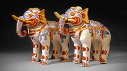 Image for Kakiemon elephants