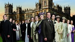 Image for Julian Fellowes, Hugh Bonneville and Colm Toibin