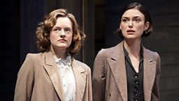 Image for Keira Knightley on stage; the music of Bela Bartok