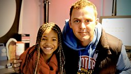 Image for Wednesday - Willow Smith in the studio!