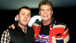 Image for Wednesday: The Hoff LIVE and Dan plays 'The Game'