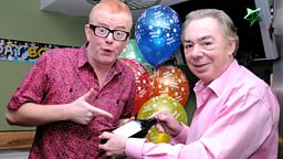 Image for Happy Birthday Chris! Plus Lord Lloyd Webber and Giorgio Locatelli