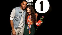 Image for Monday - Reggie Yates and Eliza Doolittle have a Lunchtime Liaison
