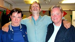 Image for Wednesday - with Bernard Sumner and Stephen Morris