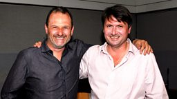 Image for Thursday- Mark talks to poet Simon Armitage