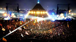 Image for U2 at Glastonbury