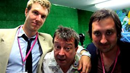 Image for Stuart Maconie at Glastonbury with Glasvegas, John Osborne and The Walkmen