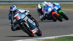 Image for The 125cc and Moto2 World Championships: Round 12 - Indianopolis