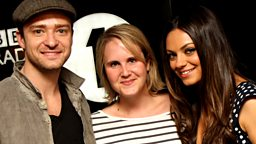 Image for Bley Friday: Beccy Interviews JT And Mila Kunis!
