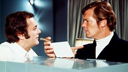Image for Roger Moore; Christopher Hampton
