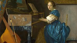 Image for Orlando Bloom; Tracy Chevalier on Vermeer