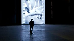Image for Tacita Dean in Turbine Hall; robot film Real Steel