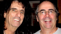 Image for Danny with Alice Cooper