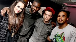 Image for Wednesday: Wretch 32 and The Cast of Hollyoaks
