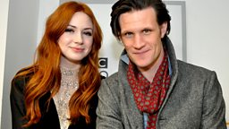 Image for With Matt Smith, Karen Gillan and Michael Crawford
