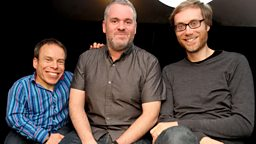 Image for Tuesday - with Stephen Merchant and Warwick Davis