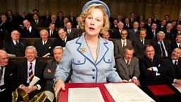 Image for Meryl Streep on playing Margaret Thatcher in The Iron Lady