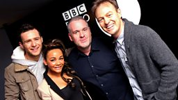 Image for Thursday - with the Strictly finalists