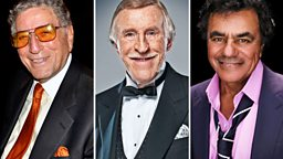 Image for Tony Bennett, Johnny Mathis, Bruce Forsyth and Jack Jones