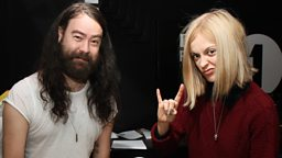 Image for Fearne Cotton joins Dan in the studio