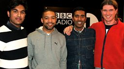 Image for Tamwar Eastenders aka Himesh Patel, Rob da Bank, Kof