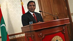 Image for Mohamed Waheed - President of the Maldives