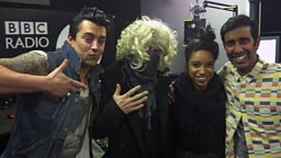 Image for Ian Watkins from Lostprophets, Lianne La Havas and Charlie Sloth
